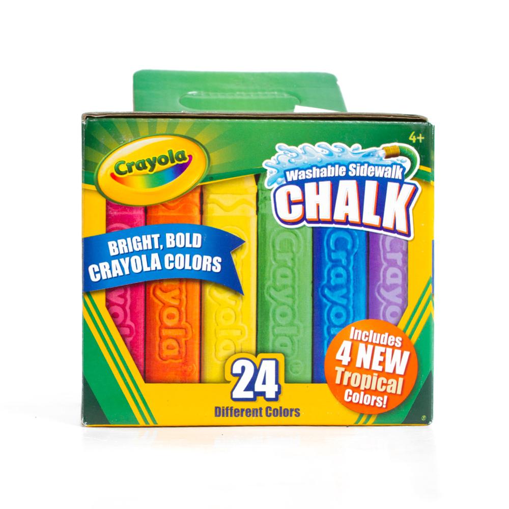 Neon Crayola Crayon 8 Color Box